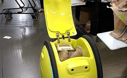Who'd pay $3,250 for a robot to carry their groceries?