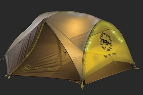 Big Agnes has mtnGLO tents that have LED lights built into the tent body. & Camping gear goes high tech u2013 Critical Link
