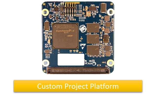 Altera Cyclone V SoC module for image processing