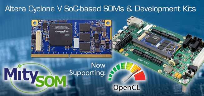 5CSX with OpenCL
