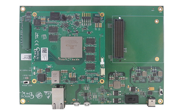 MitySOM-A10S Arria 10 SoC Development Kit from Critical Link