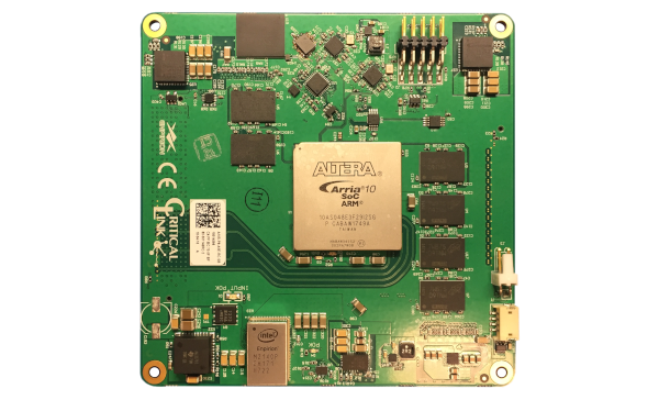 MitySOM-A10S - Arria 10 SoC System on Module from Critical Link