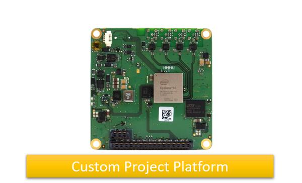 C10+CXP Camera Processor Board