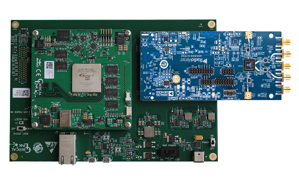 RF reference platforms featuring MitySOM-A10S